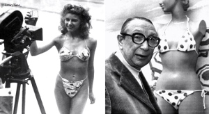 On July 5th, 1946, Louis Reard unveils the bikini in Paris.